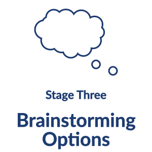 Stage Three: Brainstorming Options